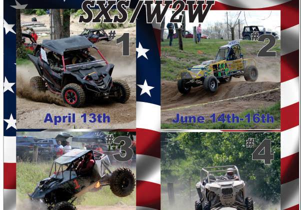 SXS W2W Races, Side by side and straight up wheel to wheel racing