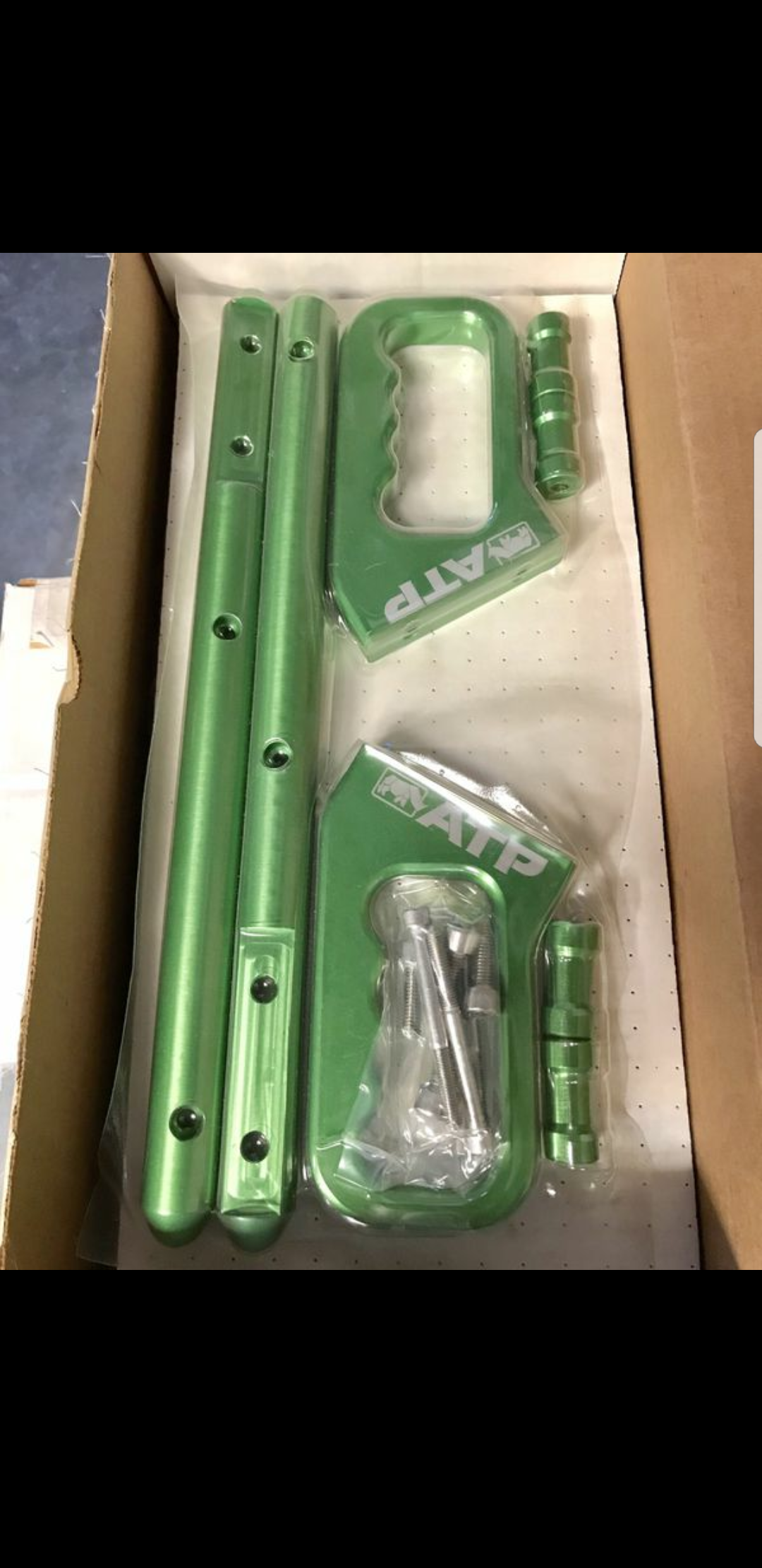 Jeep Jk Grab Handles Green